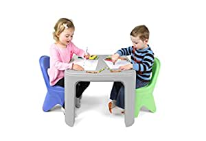simplay3 kids durable play around table and chair set baby. Black Bedroom Furniture Sets. Home Design Ideas