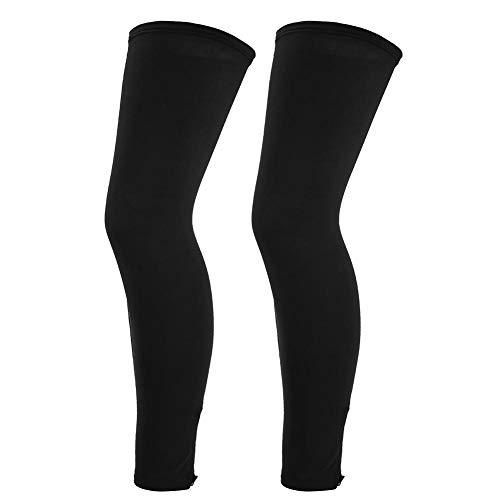 를 타고 다리를 커버 통기성 무릎 아이스 폴리우레탄 실크 섬유의 스포츠 활동에 대한 야외 스포츠가 남성 여성 성인 자전거를 운전 골프(블랙   XL)