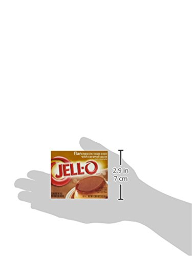 Jell-O Flan Spanish Style Custard Dessert, 3 oz (3-Pack)
