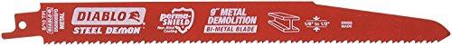 Diablo DS0908BFD5 Steel Demon 9 in. 8/10 TPI Metal