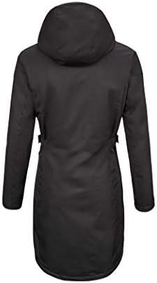 Killtec Alisi Parka Fonctionnelle avec Capuche zippée Amovible pour Femme M Noir