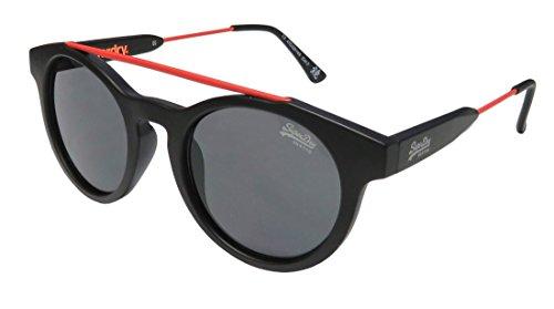 Superdry Sds Highbrow Mens/Womens Designer Full-rim 100% UVA & UVB Lenses Sunglasses/Eyewear (47-22-149, Matte Black / - Superdry Sunglasses Case