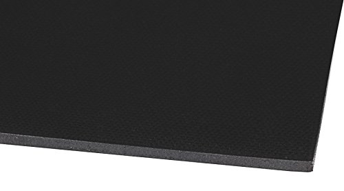 Grade Black Kuriyama NCI-1P02X36X67 Neoprene Cloth-Inserted Sheet