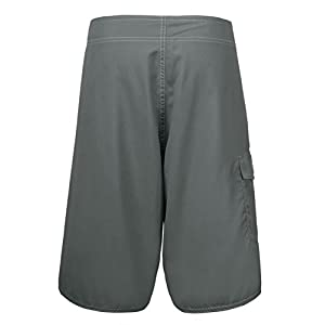 Unitop Men's Board Shorts With Linning Light Gray 38