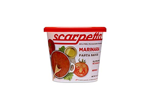 Scarpetta Marinara Sauce, 19.8-Ounce Jars (Pack of 4)