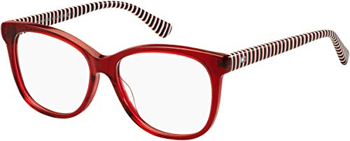 Tommy Hilfiger frame (TH-1530 C9A) Acetate Transparent Red - Blue print (Frames Tommy Eyeglass)