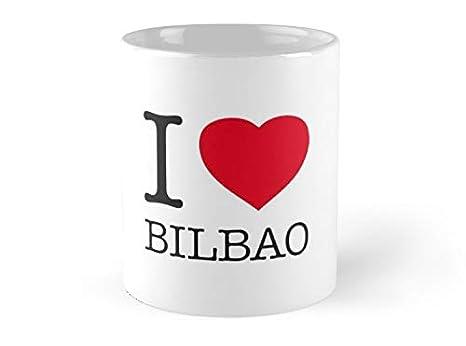 Amazon.com: Fox Likner - I BILBAO Mug - 11oz Mug - Features ...
