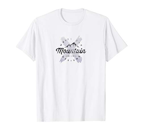 (White Oak Mountain Designs Logo T-shirt with Painted 'X')