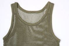 ml MassAri Limited MENS STRING MESH VEST SLEEVELESS FITTED 100% COTTON GYM TRAINING TANK TOP T SHIRT FISH NET Best For Summer Season