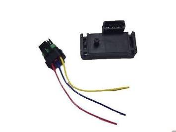 Nuevo GM 4 bar mapa colector sensor de presión Turbo Boost con cable Plug Pigtail: Amazon.es: Coche y moto
