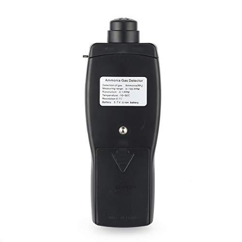 Probador del analizador del Detector de Gas de la Temperatura del amoníaco del Metro del Monitor de la Calidad del Aire de Ballylelly: Amazon.es: Bricolaje ...