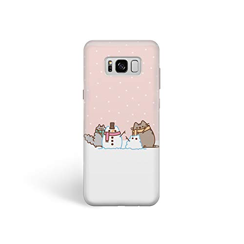 - Phone Case Cute Winter Cats for Samsung S7 Edge Hard Case Durable Protective Shell Cover Case (Cute Cat Snowman, Samsung Galaxy S7 Edge)