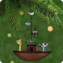 Hallmark Keepsake Ornament Noah's Ark (2001) (Ark Noahs Hanging)