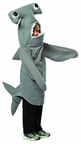 Boys Shark Costumes (Rasta Imposta Hammerhead Shark, Grey, 3-4T)