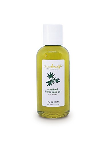 Hemp Seed Oil UNREFINED Virgin Organic Carrier Cold Pressed RAW 100% Pure 4 ()