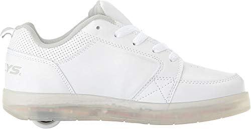 Heelys Premium 1 LO Shoes, White, Size