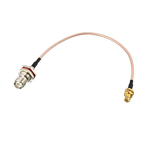 Tnc Connection - uxcell Low Loss RF Coaxial Cable Connection Coax Wire RG-316, RP-TNC-Female to SMA-KY Female 20cm