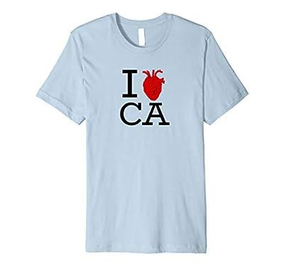 I Heart CA Shirt