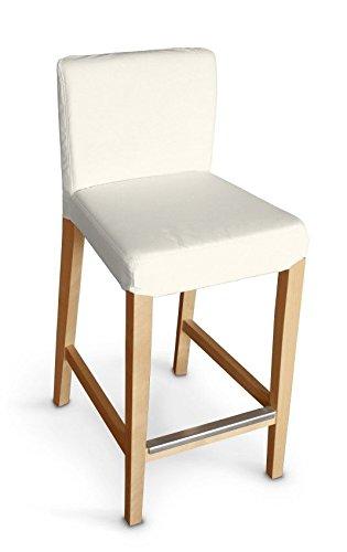 Dekoria IKEA HENRIKSDAL Sgabello da bar, colore: avorio: Amazon.it ...