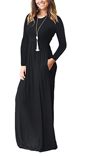 GRECERELLE-Womens-Sleeveless-Racerback-Long-Sleeve-Loose-Plain-Maxi-Dresses-Casual-Long-Dresses-Pockets