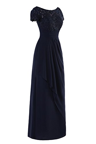 Dora Royal Dresses amp;Acute;s Mother Bride of Women Lace The Bridal Floor Blue Length rqxRSFPTrw