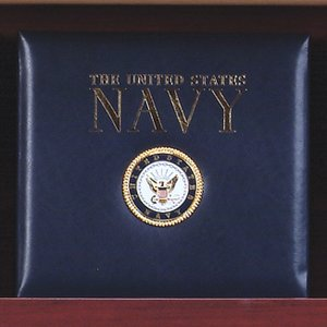 12 x 12 K & Co Scrapbook Photo Album - Medallion United Navy States