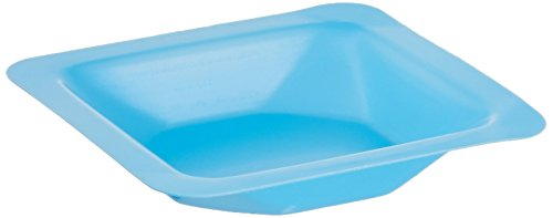 Heathrow Scientific HS120222 Weigh Boat, Anti-Static, Square, Small, Blue (Pack of 500)