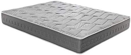 ROYAL SLEEP Colchón viscoelástico Carbono 150x200 firmeza Alta, Gama Alta, Efecto regenerador, Altura 25cm - Colchones Ceramic Plus