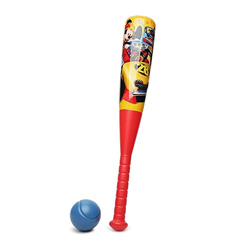 Disney Mickey Mouse Roadsters Bat & (Mickey Mouse Baseball)