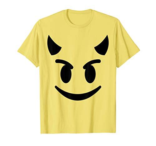 Halloween Emojis Costume Shirt Smiling Devil Face