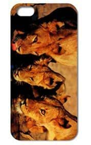 Fashion The Lion Pattern Protective Hard For Case For Sam Sung Galaxy S4 I9500 Cover #012