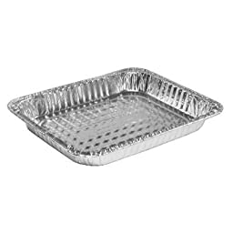 Handi-Foil 32035 Steam Table Aluminum Pan, Half-Size, 1 1/2 Shallow (Case of 100)