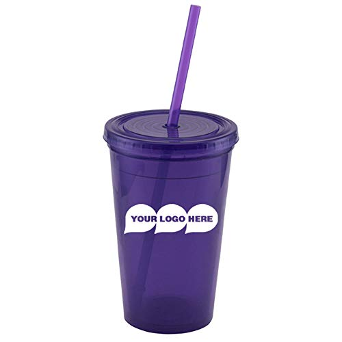 (CloseoutPromo Explore - 16 oz. Double Wall Tumbler - 60 Quantity - $1.99 Each - Promotional Product/Bulk with Your Logo/Customized)
