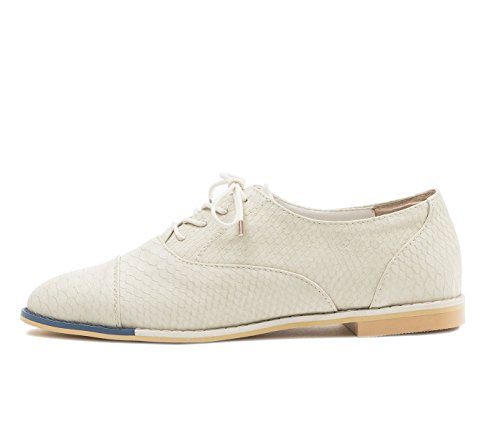 Lebunny Bleu Womens Maxfield Oxfords Beige