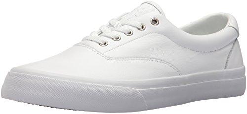 Polo Ralph Lauren Men's Thorton Sneaker, Bright White, 9.5 D ()