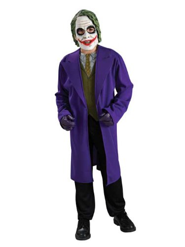 [Batman The Dark Knight Child's Costume The Joker, Large] (The Joker Masquerade Costume)
