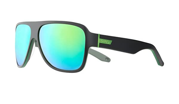 Amazon.com: SHRED Mavs Don Sunglasses, Smoke/Green Reflect ...