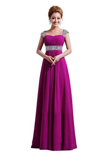 Damen Violett Beauty Kleid Emily Violett vOX5Xq7w