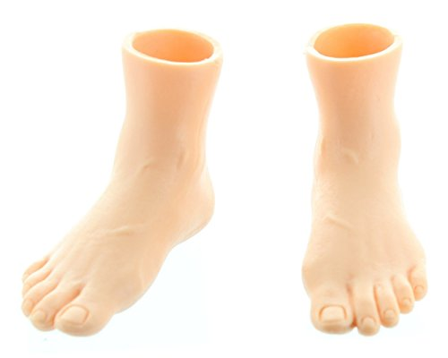 Rubber Finger Feet Puppets Right