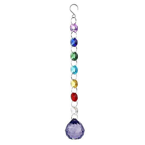 (Clearance Sale!UMFun Crystal DIY Bohemian Clear Crystal Ball Prisms Pendant Hanging Wedding Decor Gift)