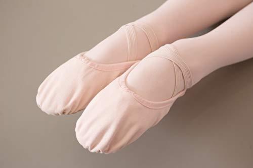 Toile Pour Enfants De Ballett Chaussures Ballet Dancina rosa Multicolore Dancin En wFHTRqxX