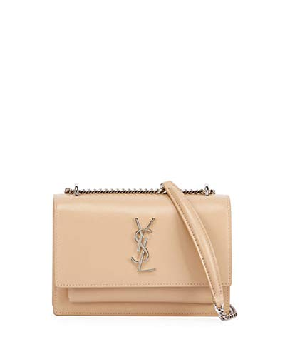 75de6d070c Sunset Monogram YSL Small Calf Leather Wallet on Chain made in Italy  (Beige). YVES SAINT LAURENT HOUSE