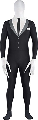 Slender Man Partysuit Costume - X-Large - Chest Size (Slender Man Costume Child)