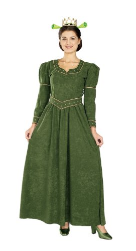 [Shrek Deluxe Princess Fiona Costume] (Fiona Adult Costumes)