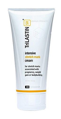 TriLASTIN-SR Maximum Strength Stretch Mark Cream, Reduces Stretch Marks from Maternity, Weight Loss,...