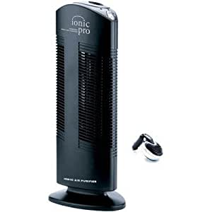 Ionic Pro Compact Air Purifier With Car Ionizer Black