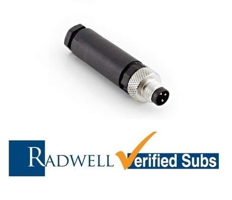 RADWELL VERIFIED SUBSTITUTE STE0804GSUB Replacement of Sick Optic Electronic STE-0804-G, Proximity Sensor - M8 Field Connector, 4-PIN, Straight