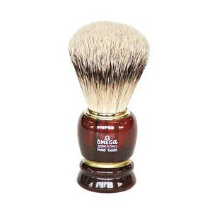 Omega 636 Silvertip Badger Shaving Brush by Omega