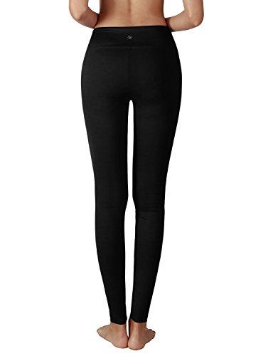 YOGARURU Women's Active Yoga Running Pants Workout Leggings With Hidden Pocket