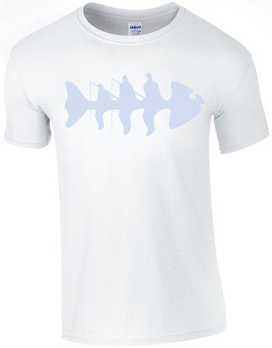 da Bianco pesca da 360 a pesca S Maglietta Bones XXL taglia 1YwZpqvw